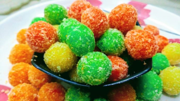 Bread Candied Balls